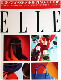 DER GROSSE SHOPPING GUIDE I Herbst/Winter 2015 I ELLE EXTRAHEFT: DAS BESTE AUS FASHION, BEAUTY & INTERIOR I Editor Text